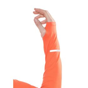 Nike Dri-Fit Element Half-Zip Hardloopshirt lange mouwen Heren oranje